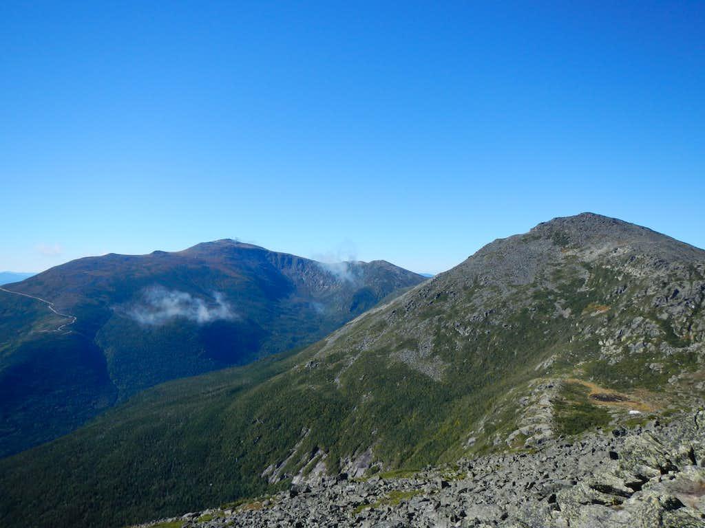 Mount Washington and Adams from Mount Madison