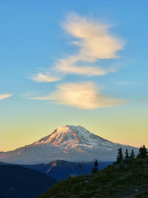 Mount Adams Sunrise