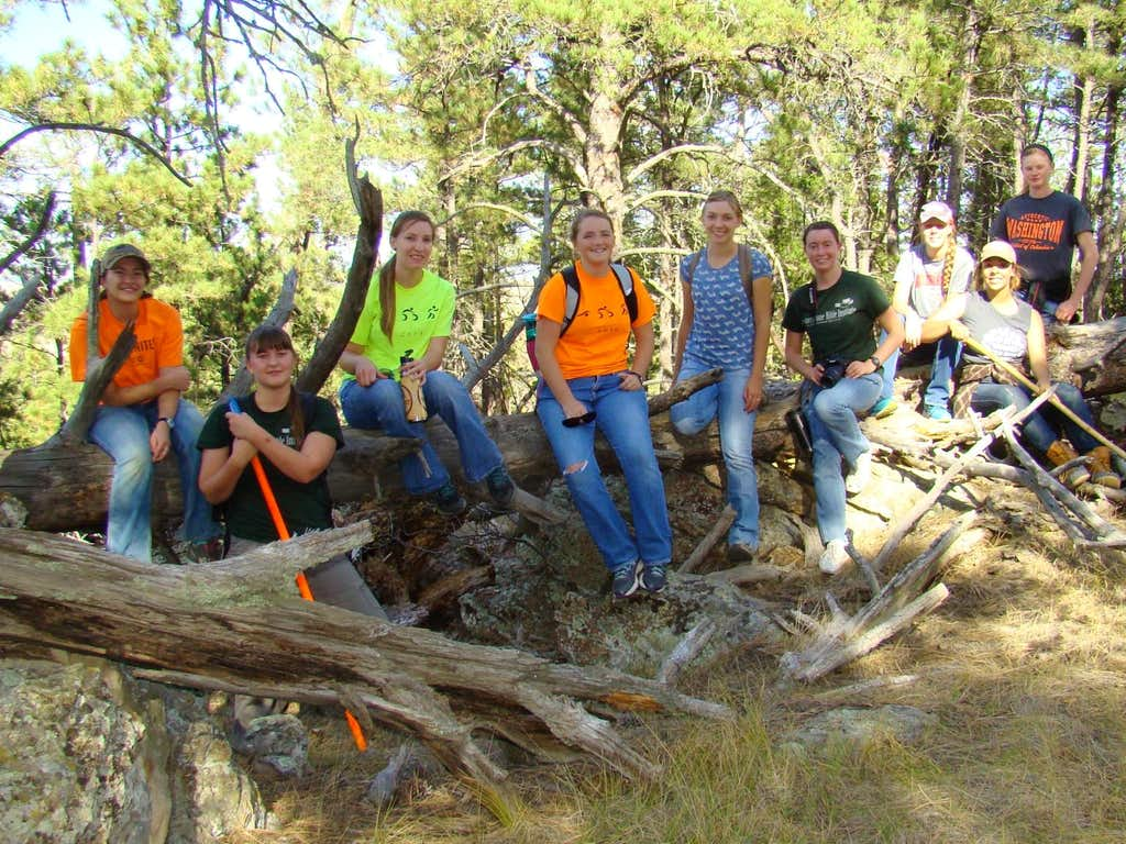 Matias Peak Hikers 2016