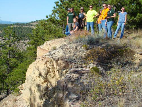 Red Canyon Overlook on Matias Peak