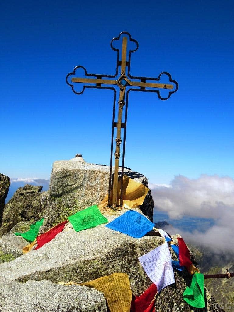 Gerlachovský štit summit cross