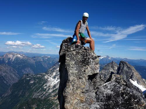 Me on the summit of Mount Terror