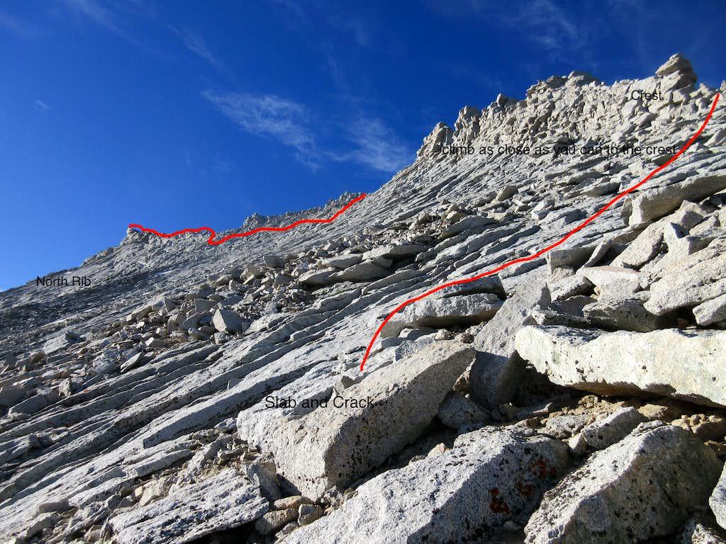 NW Rib Variation Mount Tyndall