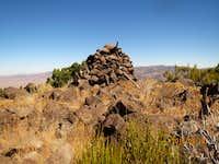 Cairn at top of Spanish Springs Peak