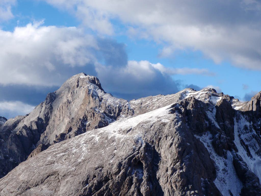 Summit and North Ridge of 'South Schlee'