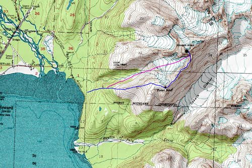 Mount Alice Map