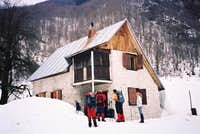 Mountain hut in Grbaja...