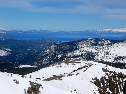 Tahoe from the summit of...