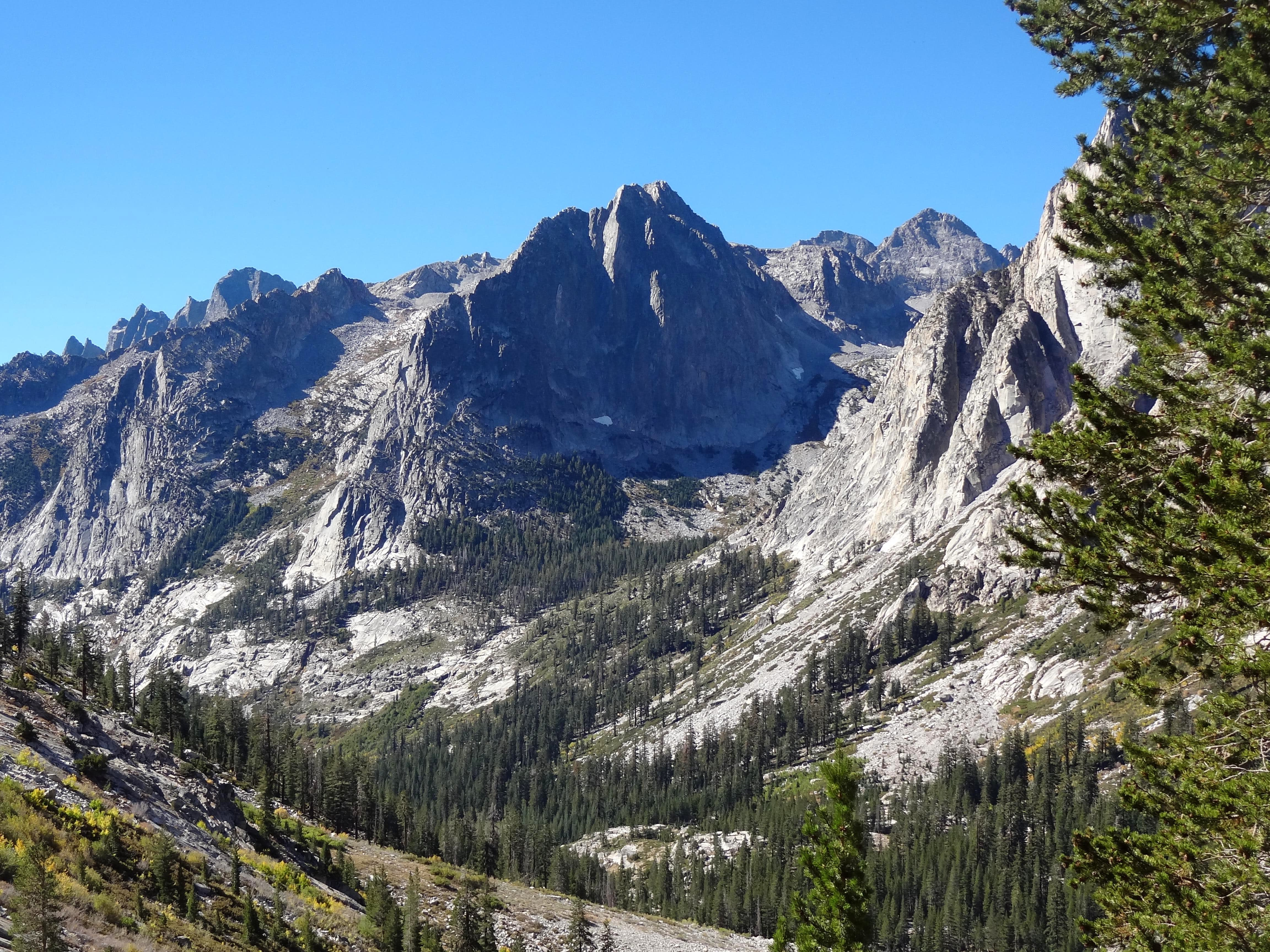 Bishop Pass, LeConte Canyon & The Citadel