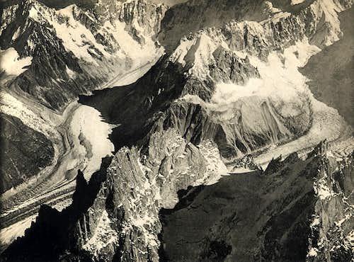 Aiguilles des Grand Charmoz - Grépon
