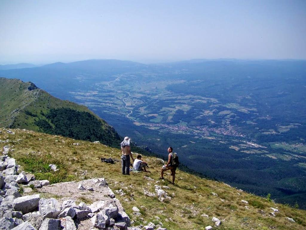 View from Šiljak