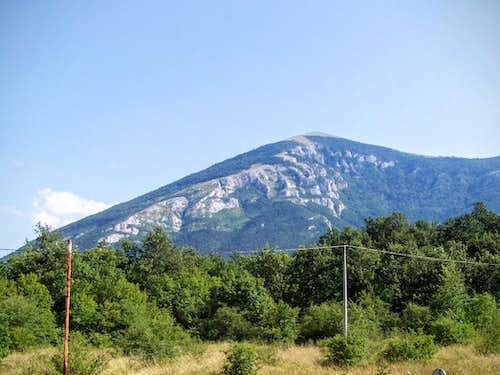 Rtanj - view from north