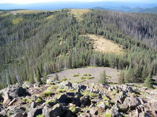 Mt Baldy South Apparent Summit