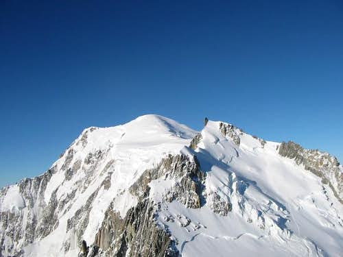 Mont Maudit and Mont Blanc...