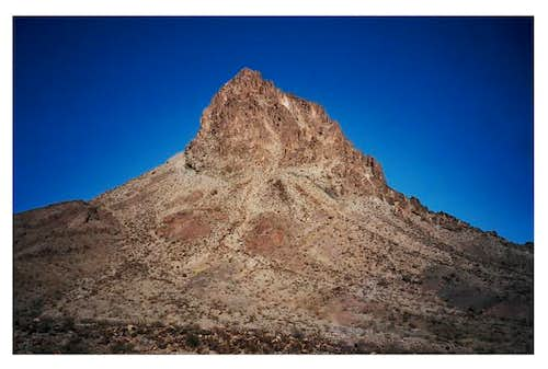 Mopah Peak with a view of its...