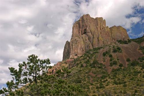 On the trail to Emory Peak,...