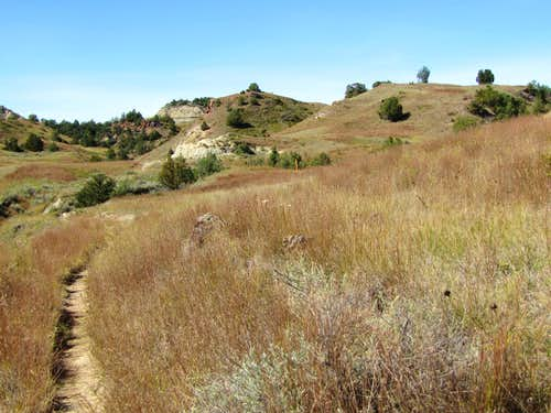 Near junction with Badlands Spur Trail