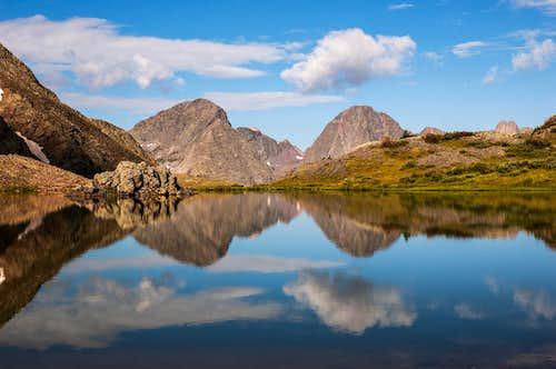 Storm King Peak and Mount Silex Reflection in Nebo Lake