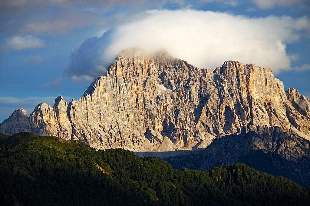 The curtain of Civetta