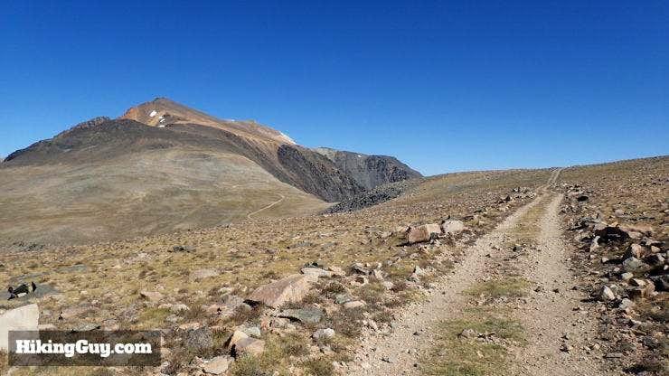 Trail to White Mountain Peak