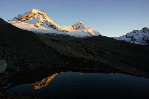 View from the Vittorio Emanule winterhut