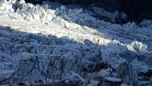 Ice of Dome glacier