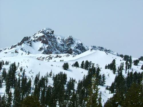 Brokeoff Mt. in April 2005