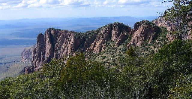 A gorgeous ridge that reaches...