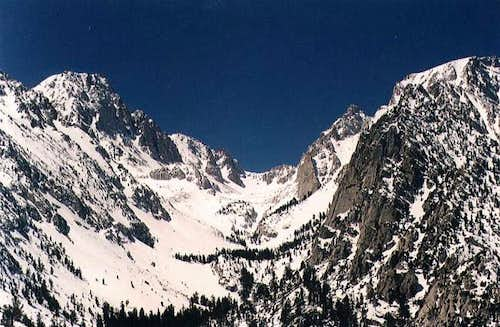 View of Tuttle Pass and South...