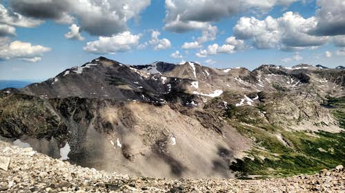 A 14er Quad: Mounts Democrat, Cameron, Lincoln and Bross
