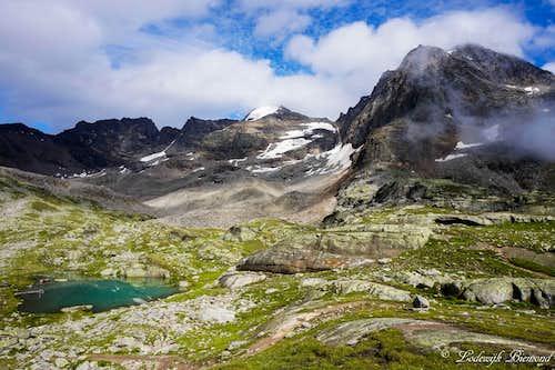 Hoher Angelus / LÁngelo Grande (11552 ft / 3521 m )