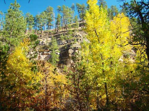 Little Elk Canyon Wall