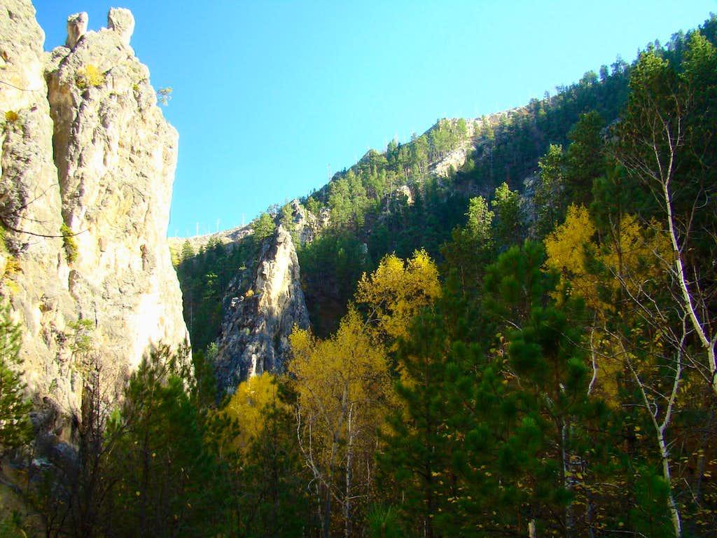 Little Elk Canyon White Gate