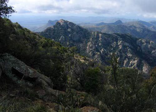 La Jolla Peak (6210') viewed...