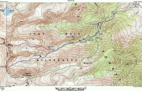 Map of Tuttle Creek drainage,...