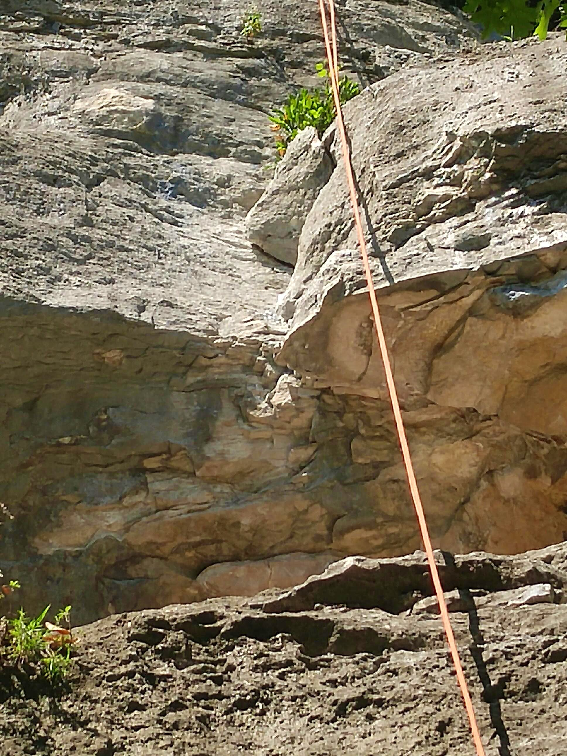 Rubber Wall (5.8-5.11b)