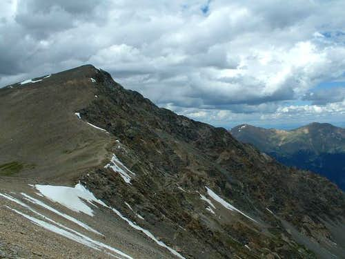 The Kelso Ridge from the...