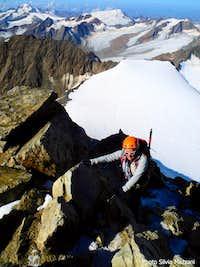 On Wildspitze summit crest