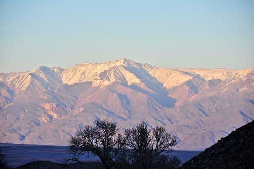 West face of White Mountain Peak