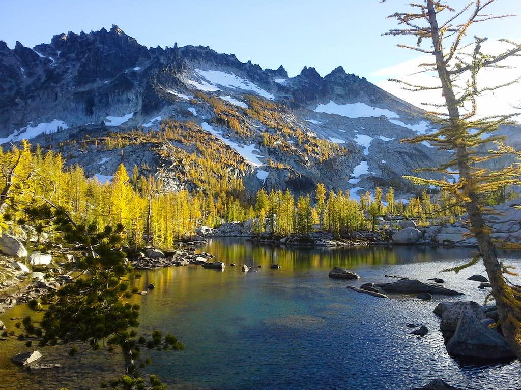 McClellan Peak from Leprauchan Lake