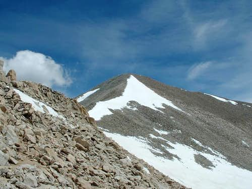 Antero from summit ridge