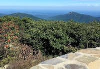 View of Old Rag from the top