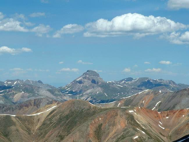 Ucompahgre from summit of...
