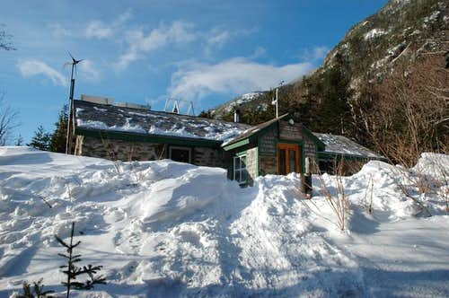 The Carter Notch Hut with...
