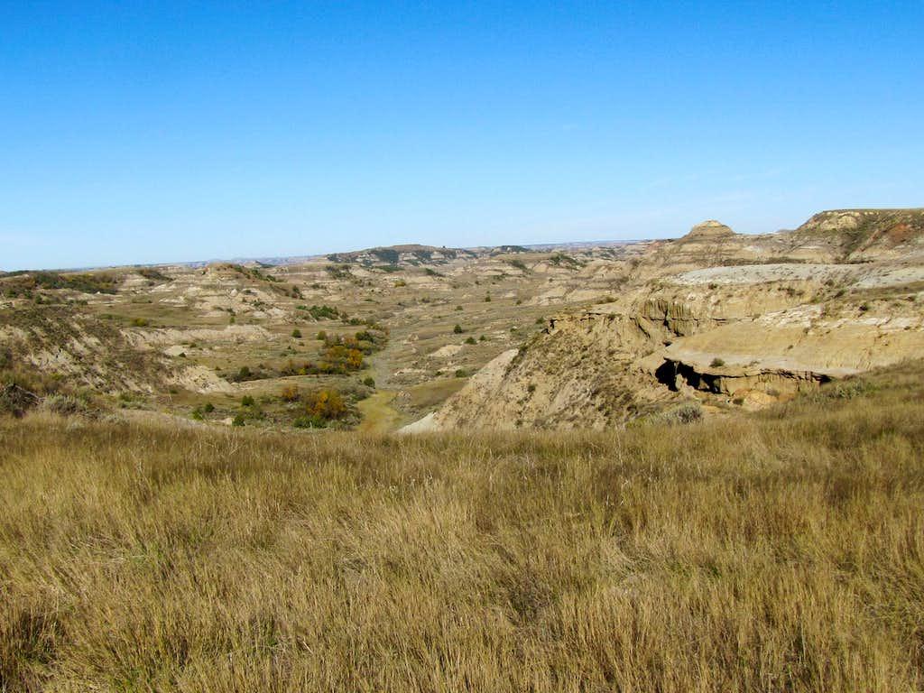 Badlands from Rim Trail