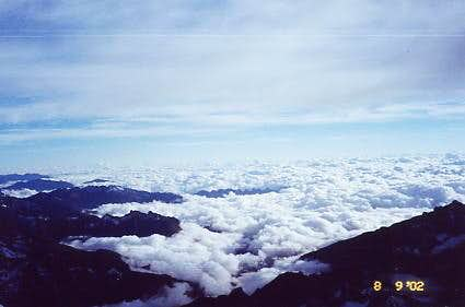 Clouds Over The Yungas From...