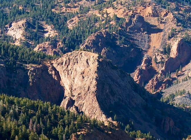 Mt. Cutler spur with digital...