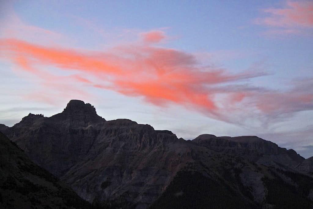 Sunset over Potosi
