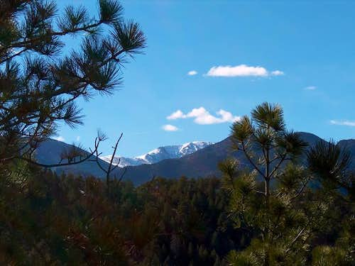 Pikes Peak from the Will...