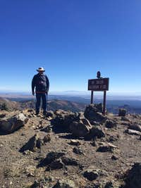 Me on the summit of Mt. Taylor